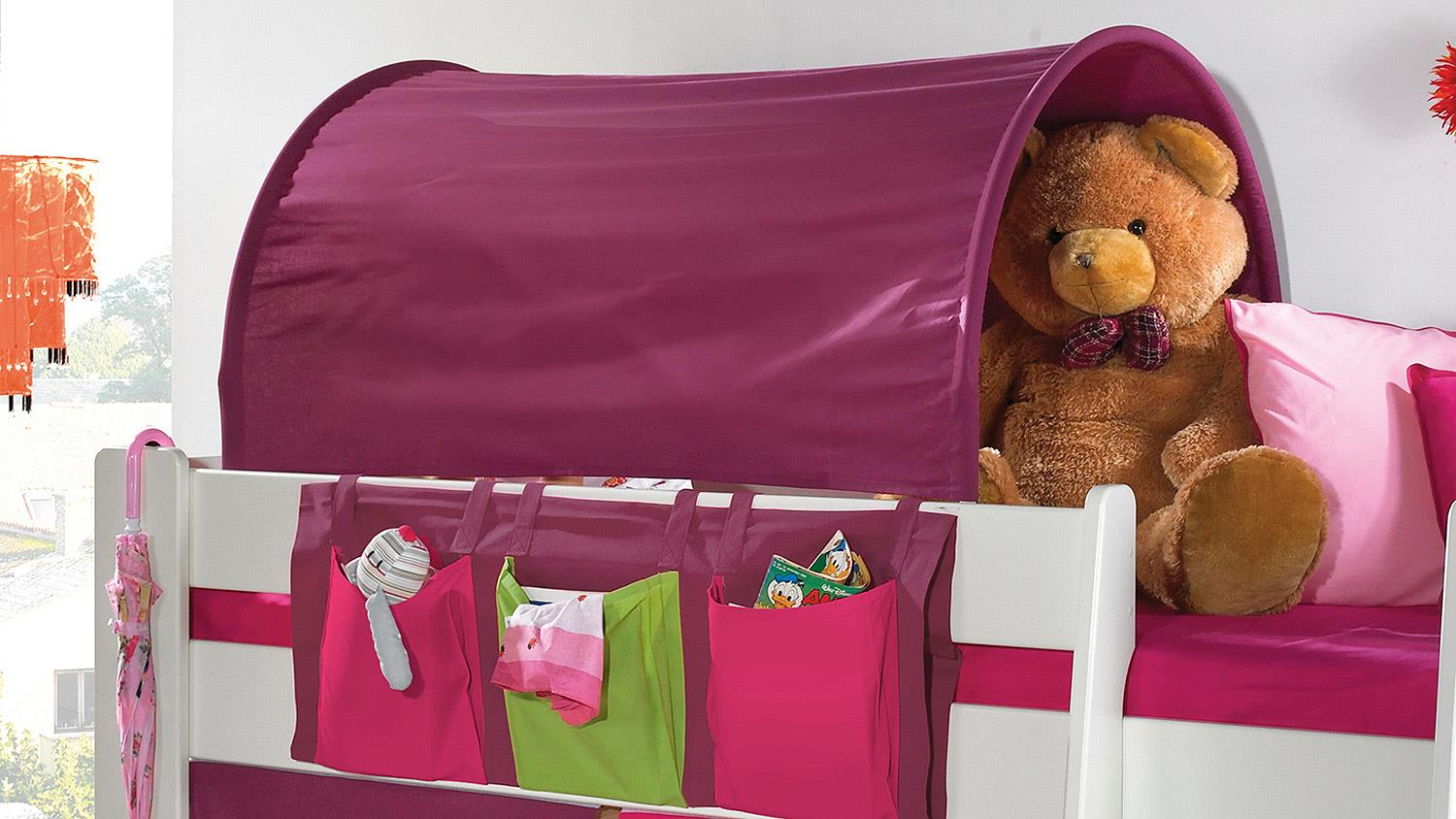 Etagenbett Steens : Hochbett steens great rutsche for kids with