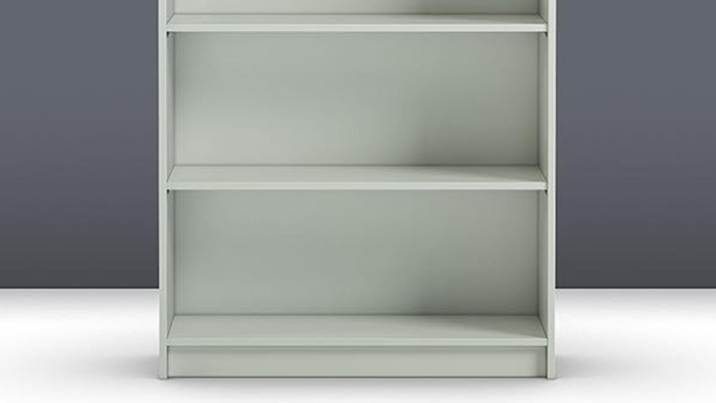 regal anette b cherregal in wei hoch breit 80cm breit. Black Bedroom Furniture Sets. Home Design Ideas