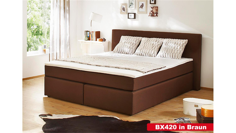 deko boxspringbett bx 420 boxspringbett bx at boxspringbett bx 420 dekos. Black Bedroom Furniture Sets. Home Design Ideas