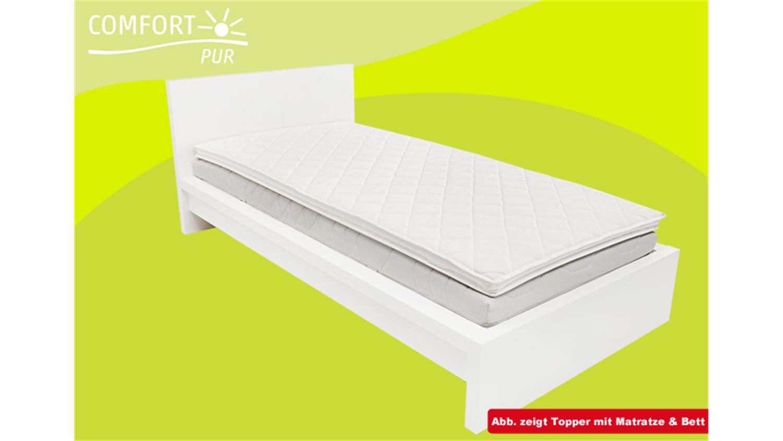 matratzenauflage topper comfortpur p340 160x200. Black Bedroom Furniture Sets. Home Design Ideas