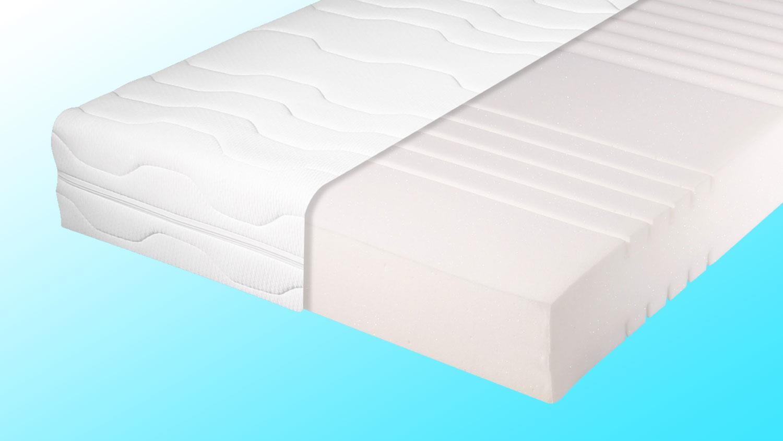 matratze dormipur k430 kaltschaum 7 zonen 140x200 cm. Black Bedroom Furniture Sets. Home Design Ideas