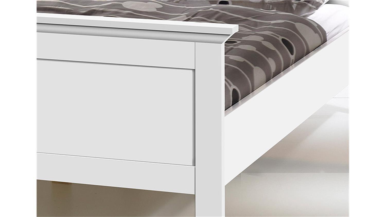 bett landhausstil wei 140x200 heimdesign. Black Bedroom Furniture Sets. Home Design Ideas