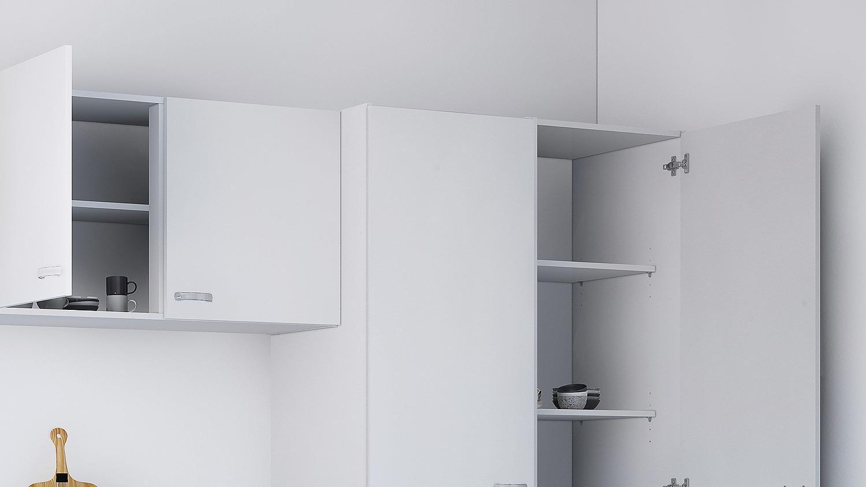 k che cassy k chenzeile wei mit sp le 8 teilig. Black Bedroom Furniture Sets. Home Design Ideas
