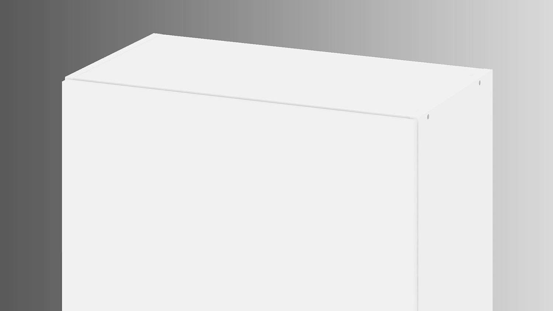 h ngeschrank ikuu 83420 oberschrank in wei k che. Black Bedroom Furniture Sets. Home Design Ideas