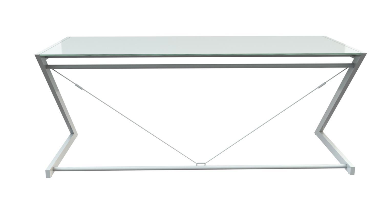 z line schreibtisch glas bestseller shop f r m bel und einrichtungen. Black Bedroom Furniture Sets. Home Design Ideas