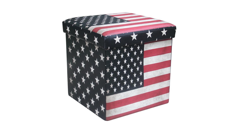 Sitzhocker Faltbox USA