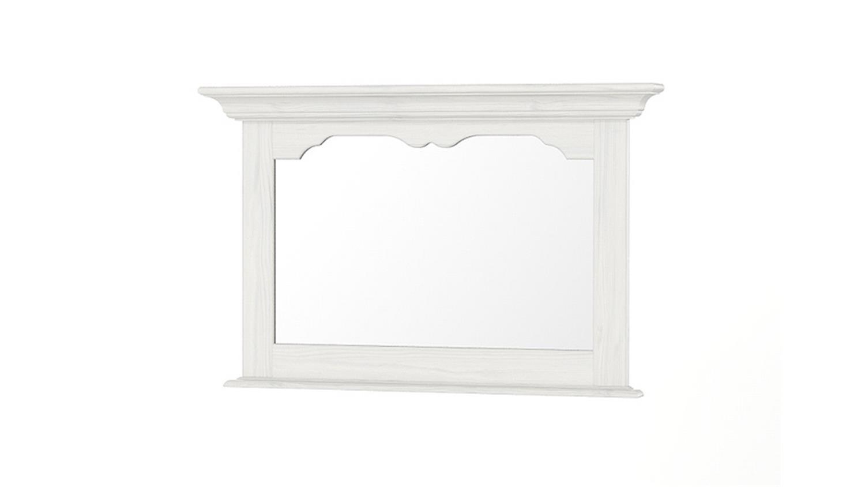 spiegel pisa pinie wei geb rstet teilmassiv. Black Bedroom Furniture Sets. Home Design Ideas