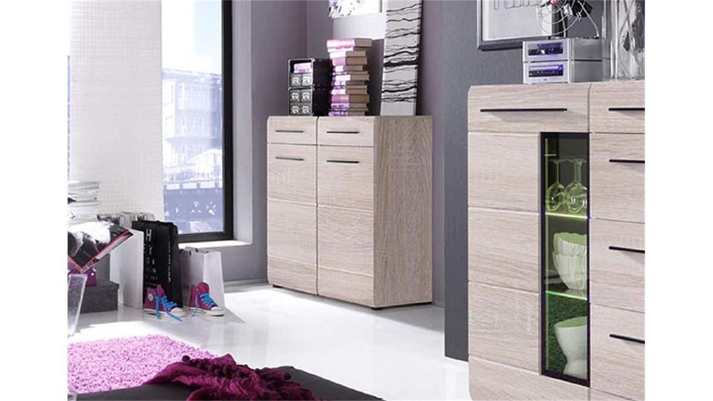 kommode skin 1 sideboard wohnzimmer in eiche s gerau hell. Black Bedroom Furniture Sets. Home Design Ideas