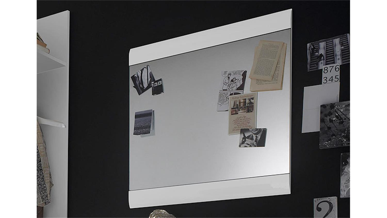 spiegel skin wandspiegel wei hochglanz zur garderobe skin. Black Bedroom Furniture Sets. Home Design Ideas