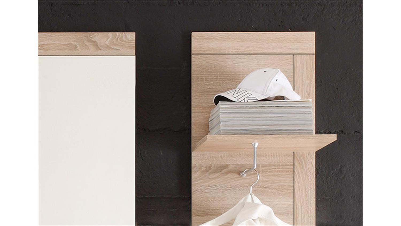 garderoben set road sonoma eiche s gerau hell 4 tlg. Black Bedroom Furniture Sets. Home Design Ideas
