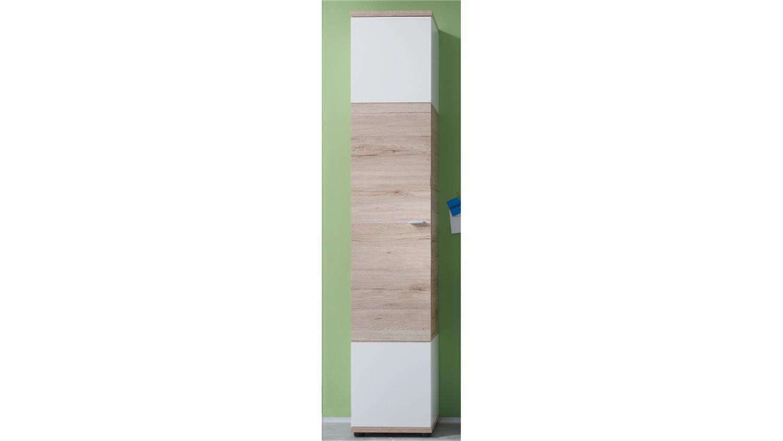 hochschrank bad schmal platzsparender schmaler badezimmer. Black Bedroom Furniture Sets. Home Design Ideas