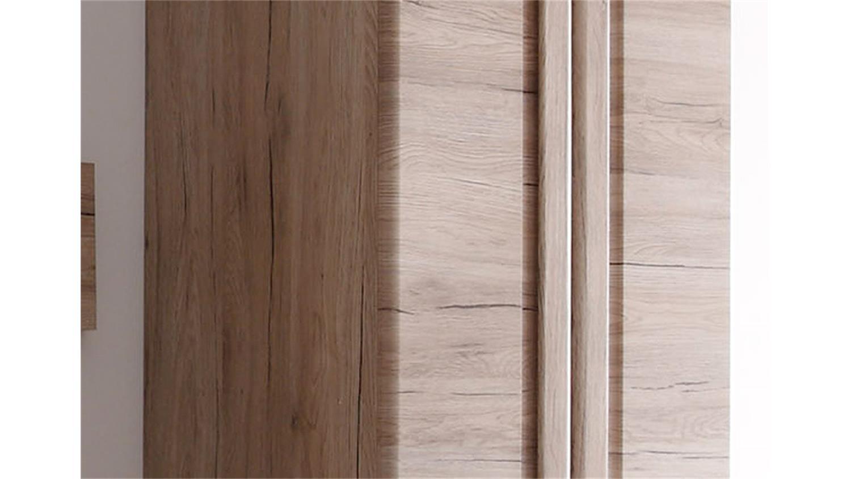 garderobenschrank malea san remo eiche hell tiefzieh. Black Bedroom Furniture Sets. Home Design Ideas