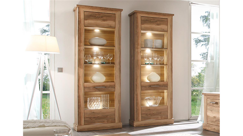 standvitrine walnuss bestseller shop f r m bel und einrichtungen. Black Bedroom Furniture Sets. Home Design Ideas