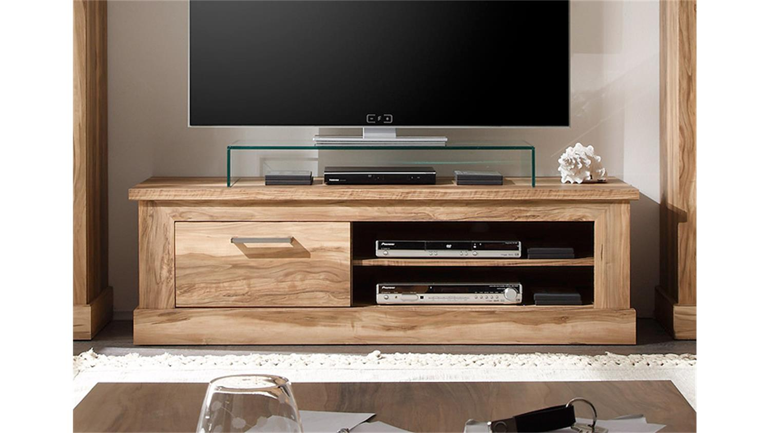tv lowboard holz nussbaum neuesten design. Black Bedroom Furniture Sets. Home Design Ideas