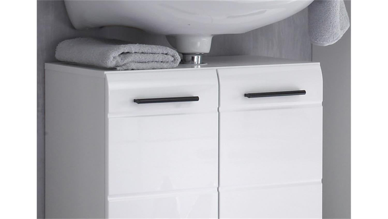 bad waschbeckenunterschrank skin front wei hochglanz. Black Bedroom Furniture Sets. Home Design Ideas