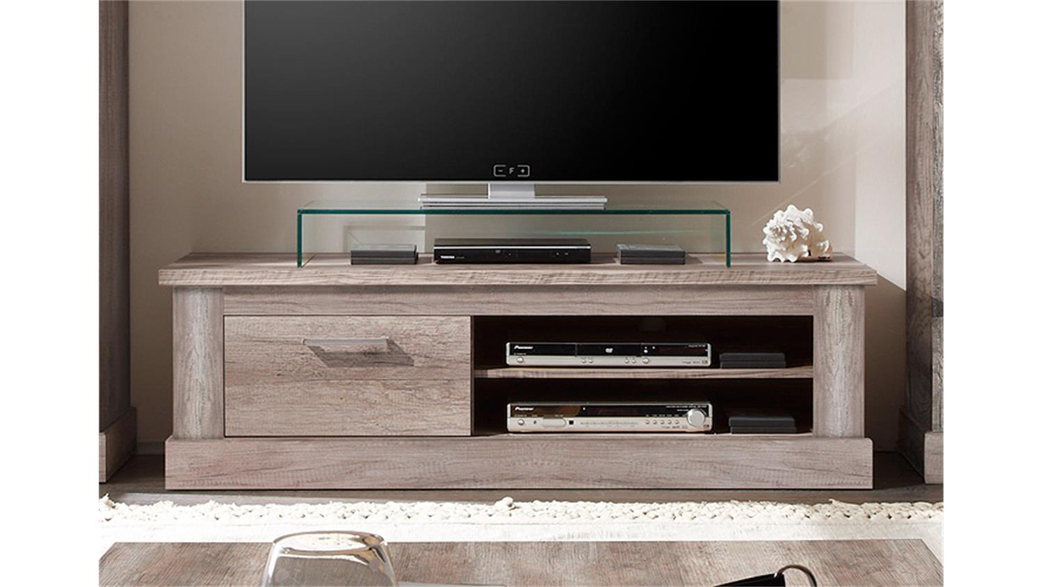 tv board montreal lowboard in canyon monument oak. Black Bedroom Furniture Sets. Home Design Ideas