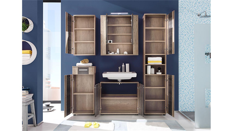 badezimmer set star bad eiche monument oak und touchwood. Black Bedroom Furniture Sets. Home Design Ideas