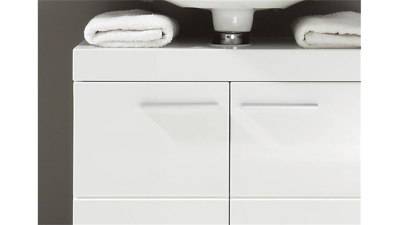 unterschrank amanda badezimmer wei hochglanz tiefzieh. Black Bedroom Furniture Sets. Home Design Ideas
