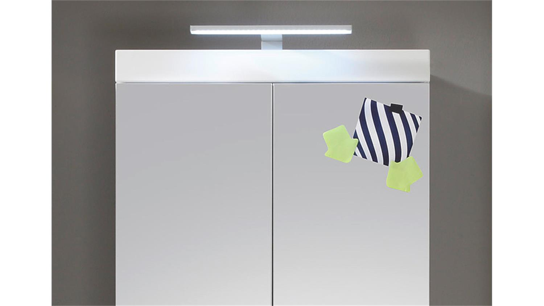 Fantastisch AMANDA Badezimmer weiß Hochglanz Tiefzieh PE96