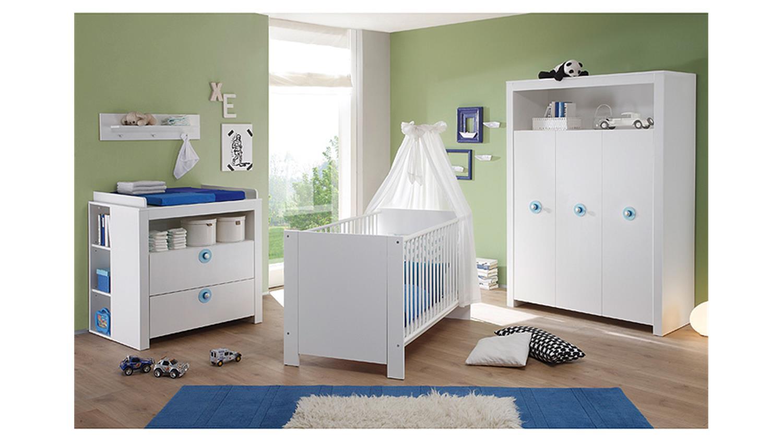 Set OLIVIA Kinderzimmer in weiß 3 teilig