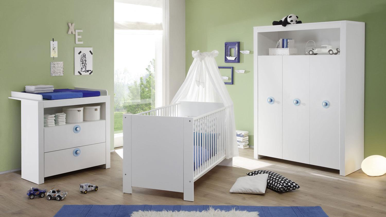 Babyzimmer komplett Set Maritim 3-teilig online | FURNART