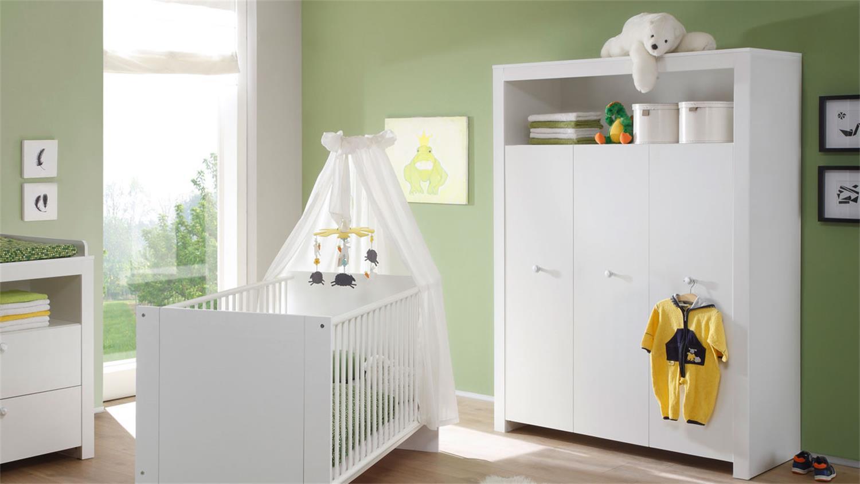 Babyzimmer 5 Teilig Olivia Komplettset Kinderzimmer Weiss