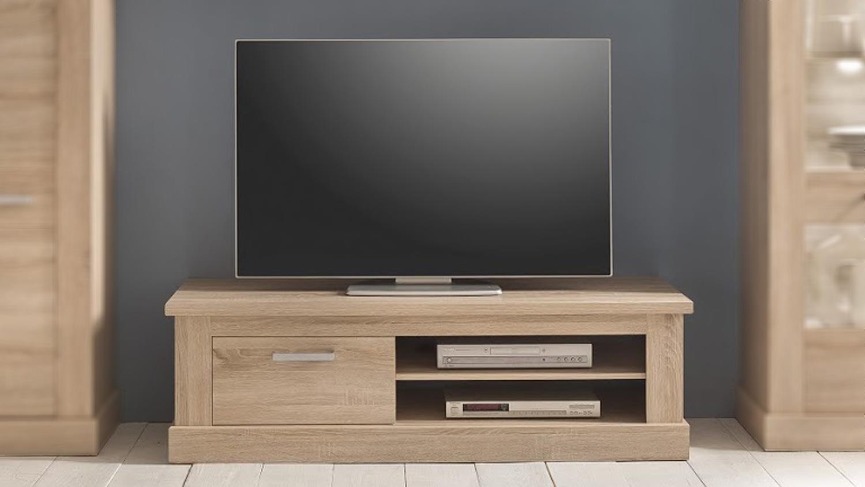 tv board 2 montreal lowboard tv unterteil in eiche s gerau. Black Bedroom Furniture Sets. Home Design Ideas