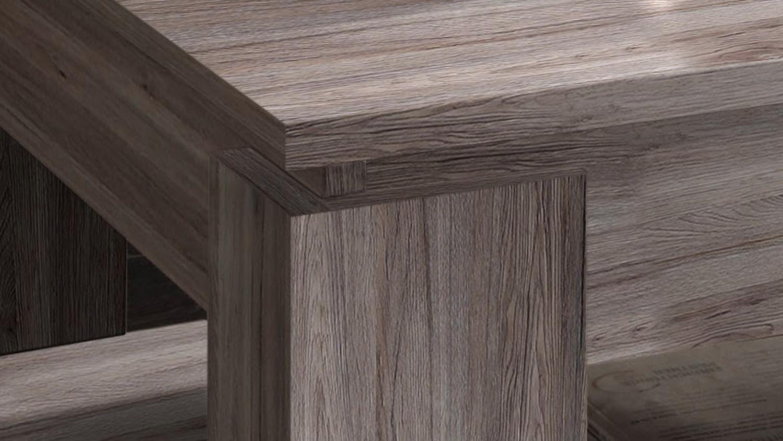 couchtisch universal eiche s gerau dunkel tisch mit ablage. Black Bedroom Furniture Sets. Home Design Ideas