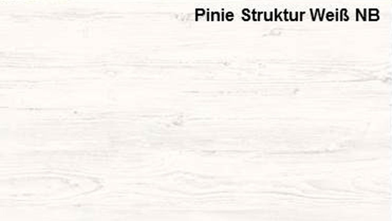 Couchtisch UNIVERSAL Pinie Struktur weiß Tisch mit Ablage