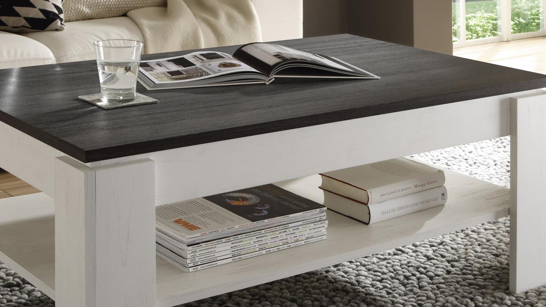 couchtisch universal in pinie struktur wei und touchwood. Black Bedroom Furniture Sets. Home Design Ideas