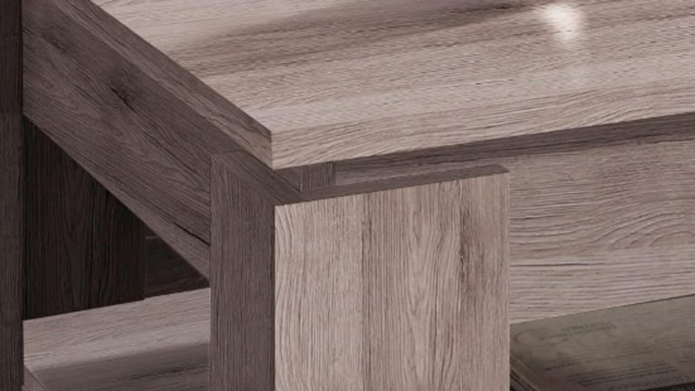 couchtisch universal in eiche san remo dunkel mit ablage. Black Bedroom Furniture Sets. Home Design Ideas