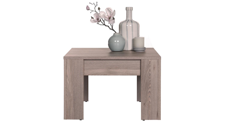 Beistelltisch ameland tisch in nelson eiche 60x60 cm for Tisch 60x60