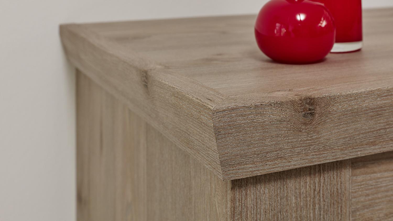 Beistelltisch ameland tisch in nelson eiche 60x60 cm for Esstisch 60x60