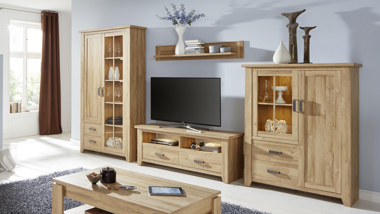 tv board 1 canyon lowboard unterschrank fernsehrschrank in alteiche. Black Bedroom Furniture Sets. Home Design Ideas