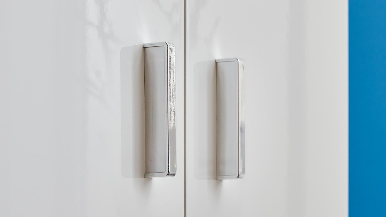 badezimmer vex wei hochglanz lackiert inkl keramikbecken. Black Bedroom Furniture Sets. Home Design Ideas