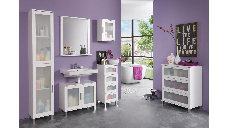 badezimmerset orlando badezimmer badm bel mit spiegel wei und glas. Black Bedroom Furniture Sets. Home Design Ideas