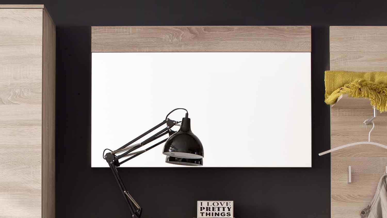wandspiegel jack garderobenspiegel in eiche s gerau hell. Black Bedroom Furniture Sets. Home Design Ideas