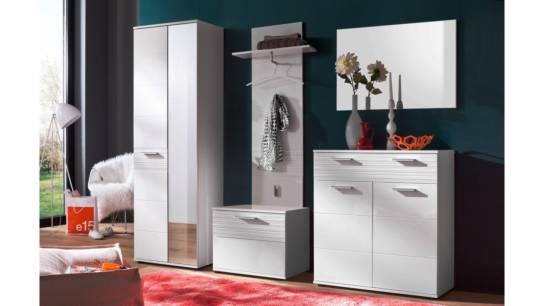 garderobenschrank ice garderobe schuhschrank schrank wei hochglanz. Black Bedroom Furniture Sets. Home Design Ideas
