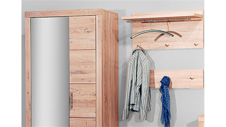 garderobenset berlin 6 tlg wildeiche massiv sonoma eiche. Black Bedroom Furniture Sets. Home Design Ideas