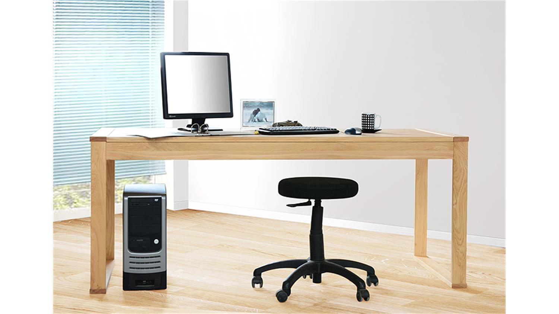 Schreibtisch 4600 tisch b rotisch b rom bel in wildeiche for Schreibtisch wildeiche