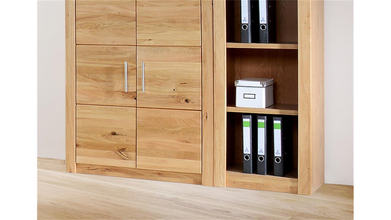 b ro set 4600 wildeiche teilmassiv 5 tlg. Black Bedroom Furniture Sets. Home Design Ideas