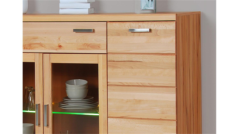 highboard charlotte kernbuche teilmassiv. Black Bedroom Furniture Sets. Home Design Ideas