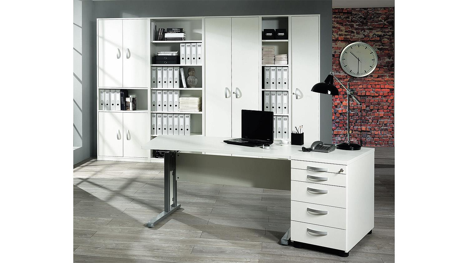 b roset jobexpress home office b rom bel in wei von wellem bel. Black Bedroom Furniture Sets. Home Design Ideas