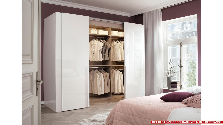 schwebet renschrank ineo schrank begehbar in wei hochglanz wellem bel. Black Bedroom Furniture Sets. Home Design Ideas