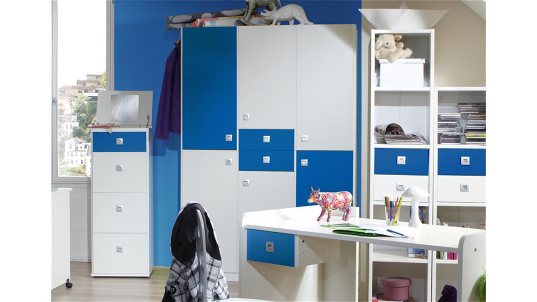 Wunderbar kinderzimmer sunny blau ideen die besten for Kinderzimmer 4 teilig
