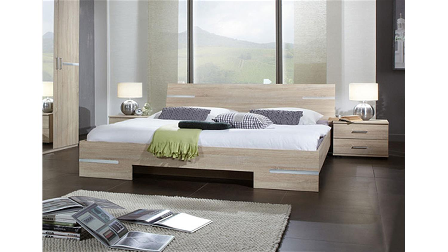 futonbett anna 140x200 in sonoma eiche s gerau. Black Bedroom Furniture Sets. Home Design Ideas
