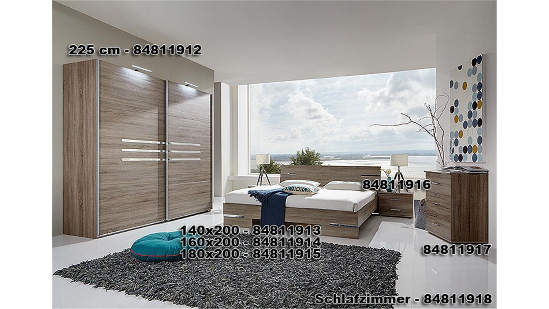 schlafzimmer anna kombi 3 in eiche sonoma s gerau. Black Bedroom Furniture Sets. Home Design Ideas