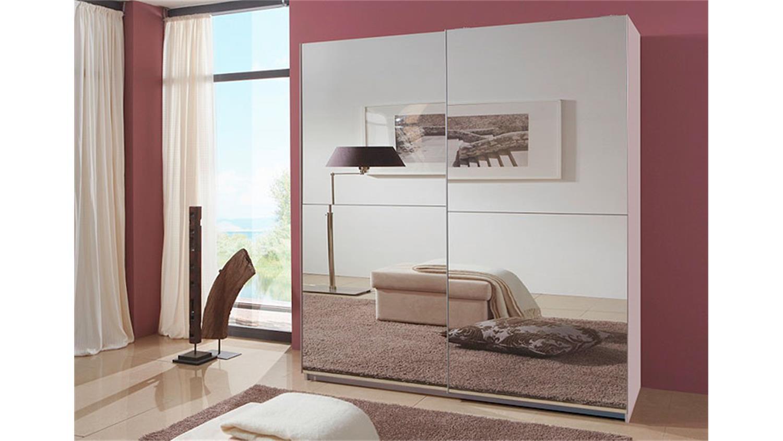 schwebet renschrank lesca in wei mit spiegelfront 135. Black Bedroom Furniture Sets. Home Design Ideas