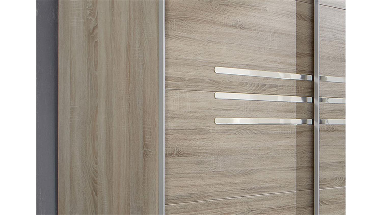 schwebet renschrank anna in eiche sonoma s gerau 225 cm. Black Bedroom Furniture Sets. Home Design Ideas