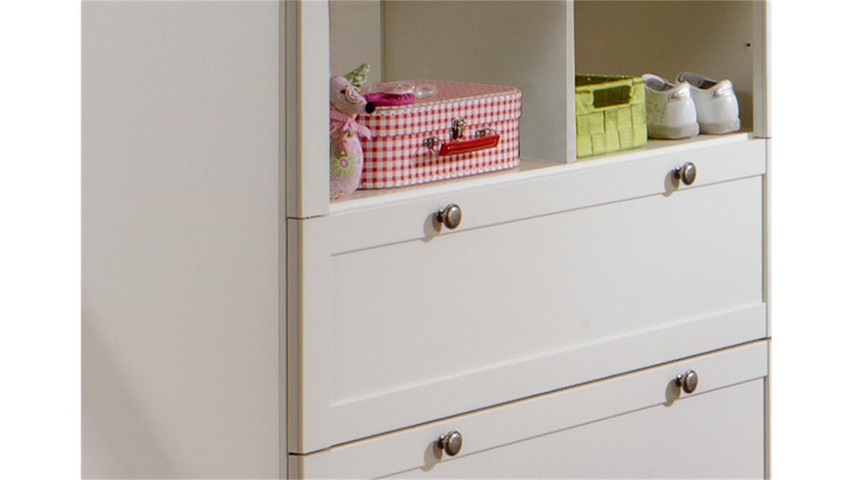 Wickelkommode 2 Filou Wickeltisch Babyzimmer In Alpinweiss